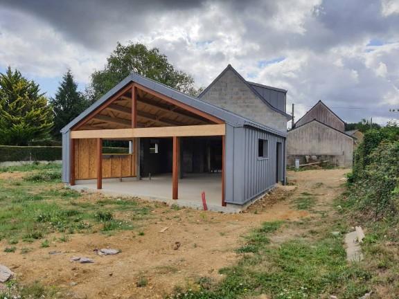 Extension en ossature bois (projet en cours)